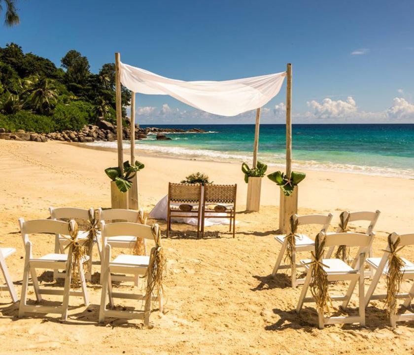 Carana Beach Hotel - esküvő (Seychelle szigeteki utazások)