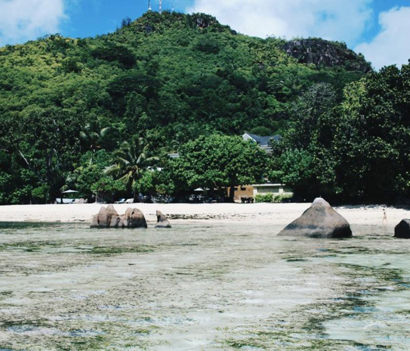 Crown Beach - hotel környéke (Seychelle szigeteki utazások)
