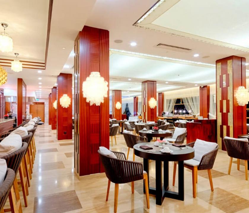 Savoy Resort & Spa - étterem (Seychelle szigeteki utazások)