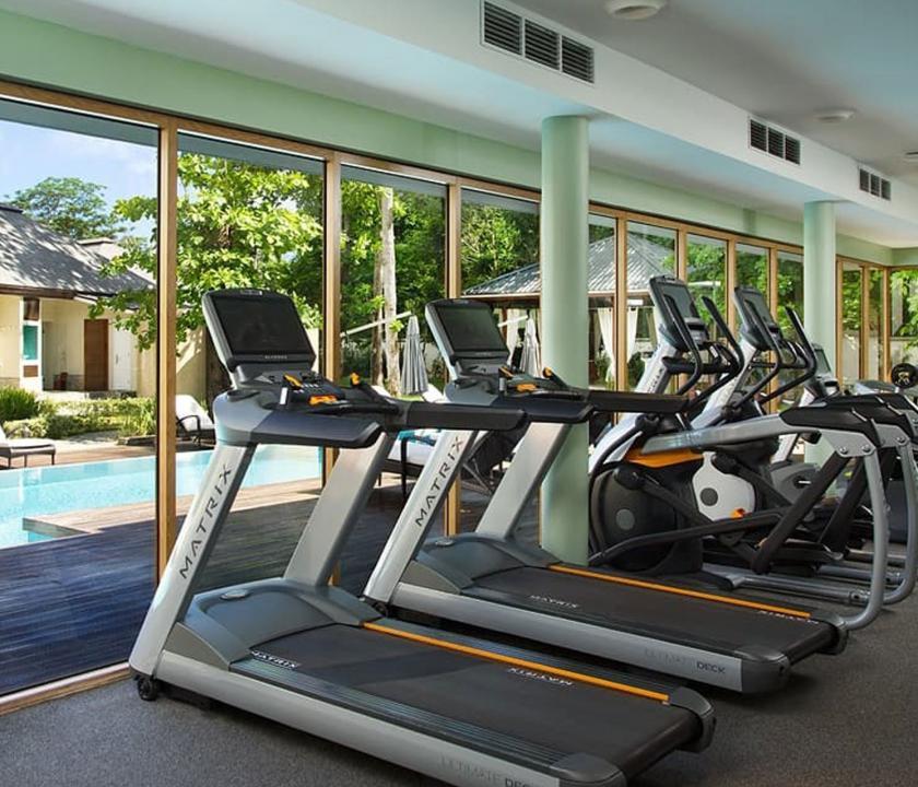 Savoy Resort & Spa - fitness terem (Seychelle szigeteki utazások)