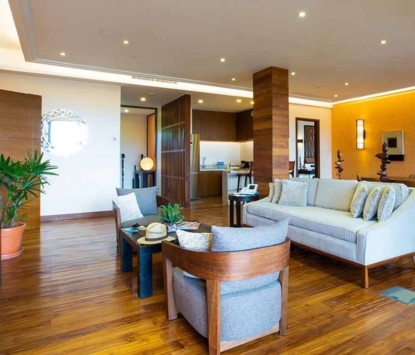 Savoy Resort & Spa - recepció (Seychelle szigeteki utazások)