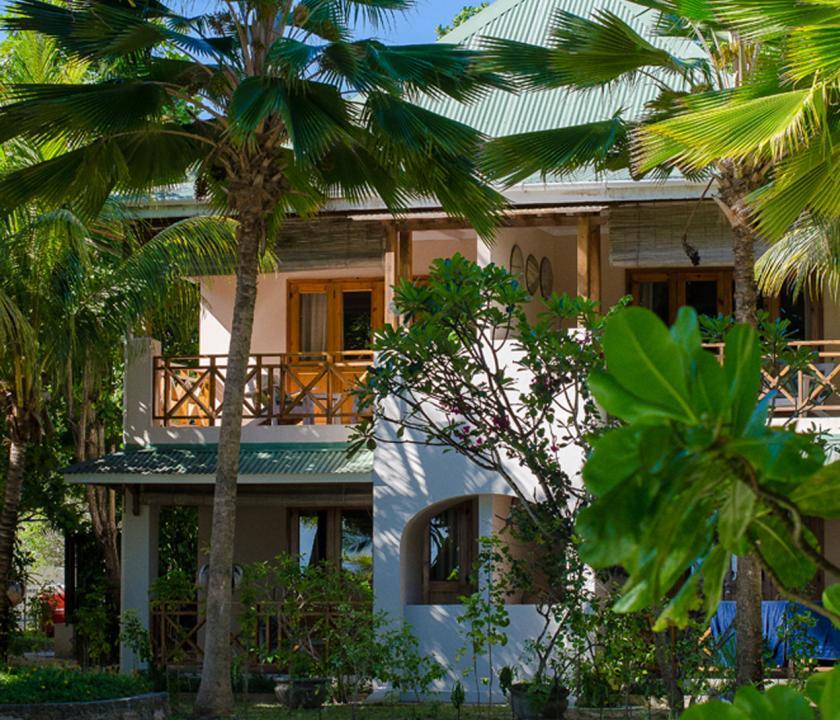 Indian Ocean Lodge - a hotel kivülről (Seychelle szigeteki utazások)