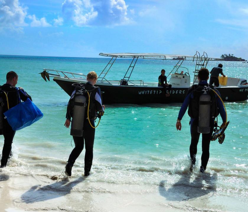 Paradise Sun Hotel - búvárkodás (Seychelle szigeteki utazások)