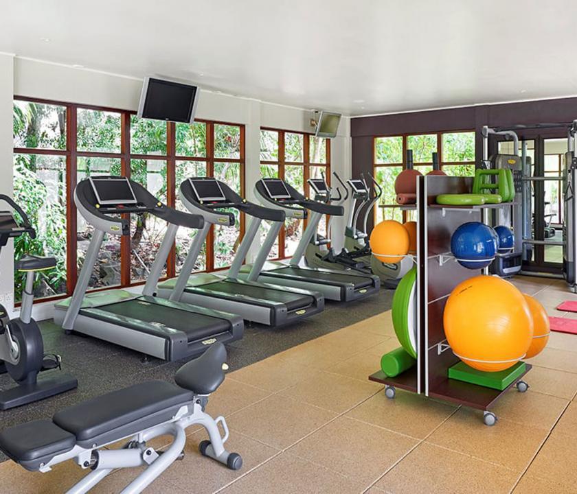 Hilton Seychelles Labriz Resort & Spa - fitness terem (Seychelle szigeteki utazások)