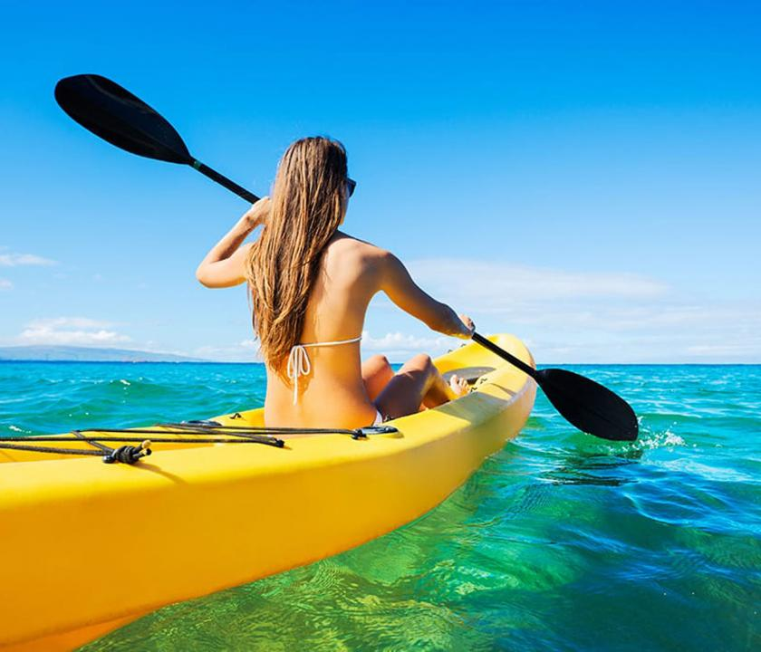 Hilton Seychelles Labriz Resort & Spa - kajakozási lehetőség (Seychelle szigeteki utazások)