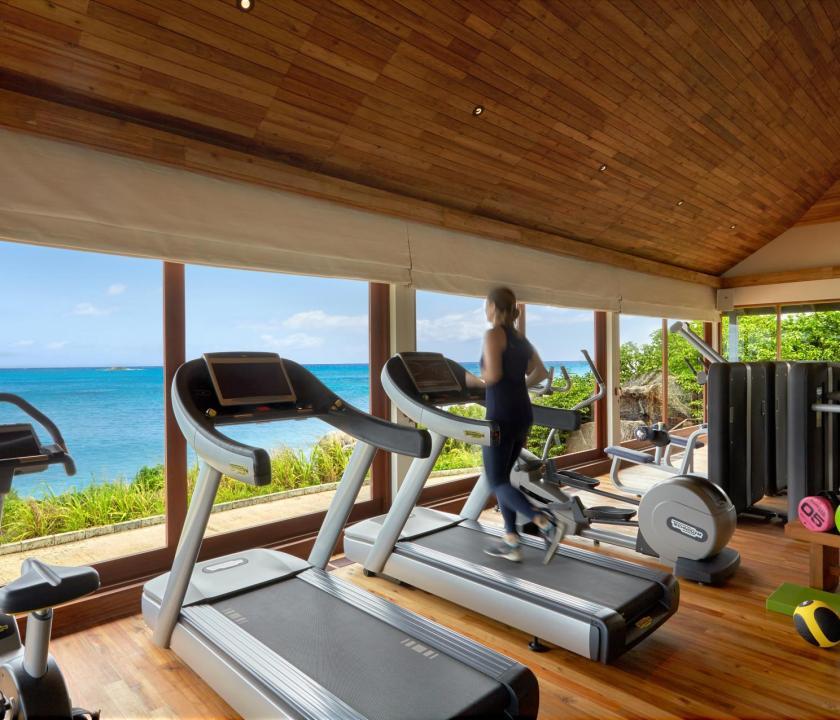 Six Senses Zil Pasyon Hotel - fitness terem (Seychelle szigeteki utazások)