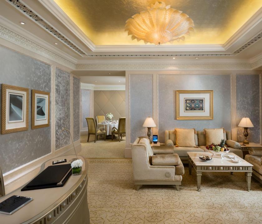 Emirates Palace / Khaleej Deluxe suite (Dubai utazások)