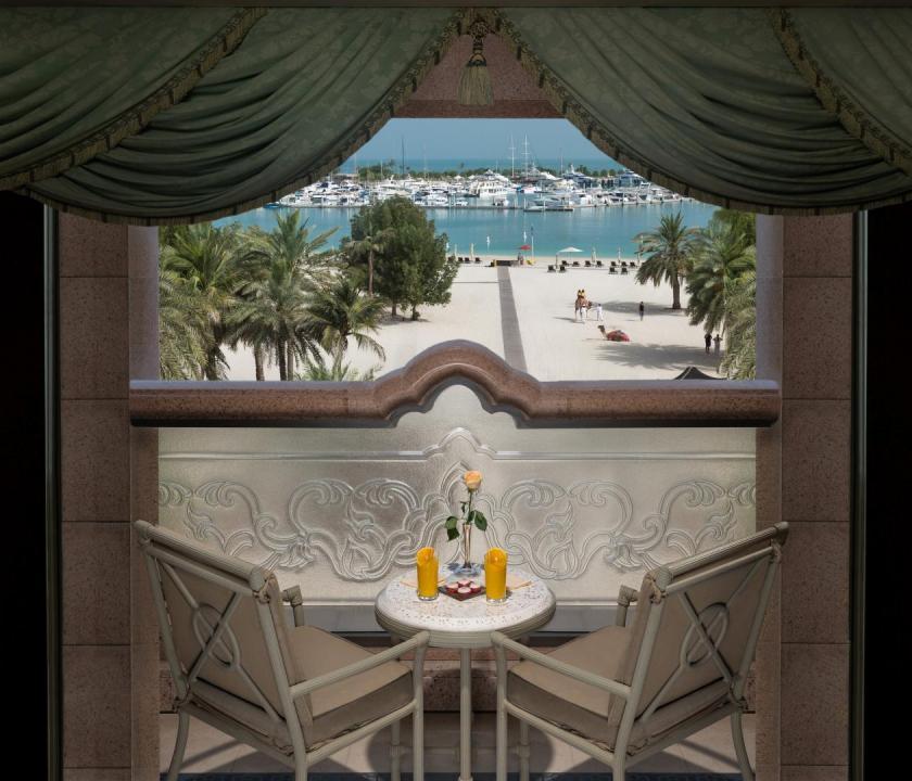 Emirates Palace / Khaleej suite (Dubai utazások)