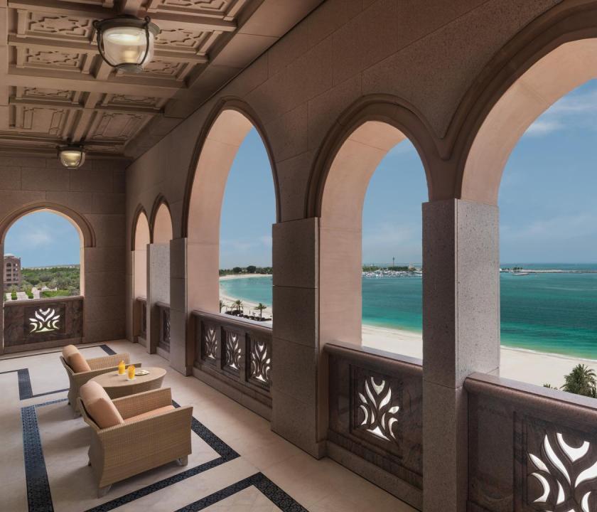 Emirates Palace / Royal Khaleej suite (Dubai utazások)