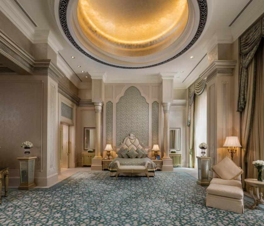 Emirates Palace / Three bedroom Palace suite (Dubai utazások)
