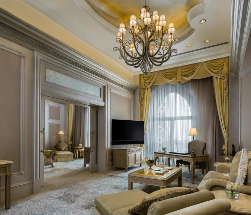 Emirates Palace / Two bedroom Palace suite (Dubai utazások)
