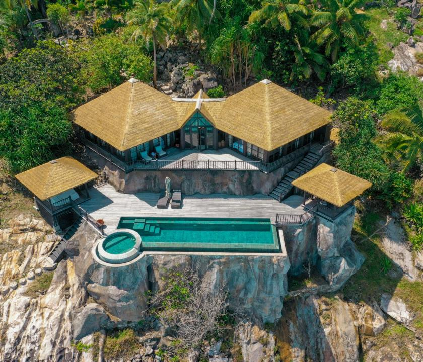 Fregate Island Private / Private Pool Twin Residence (Seychelle szigeteki utazások)
