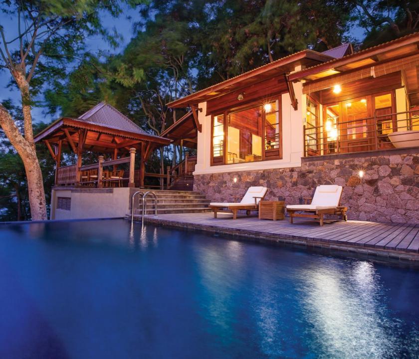 JA Enchanted Island Resort / Private pool villa (Seychelle szigeteki utazások)