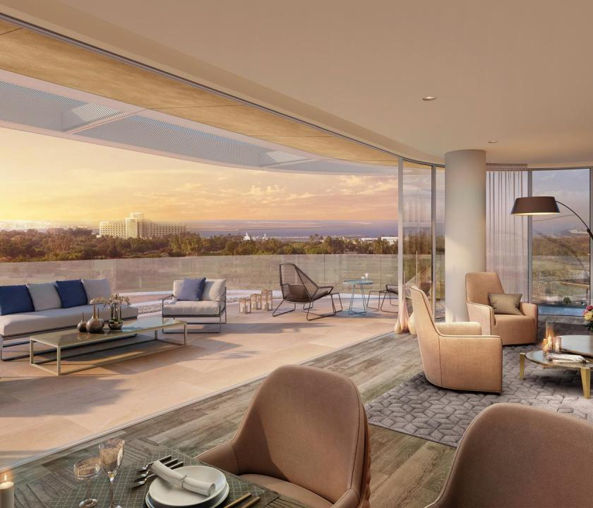 JA Lake View Hotel / One bedroom terrace suite (Dubai utazások)