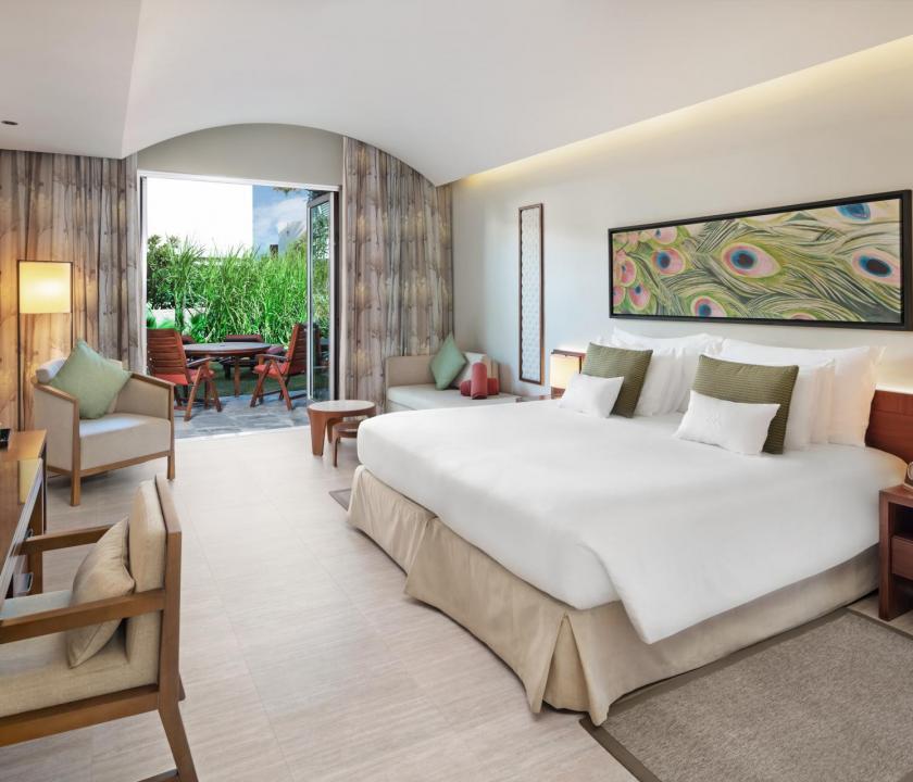 JA Palm Tree Court Hotel / Garden terrace junior suite (Dubai utazások)