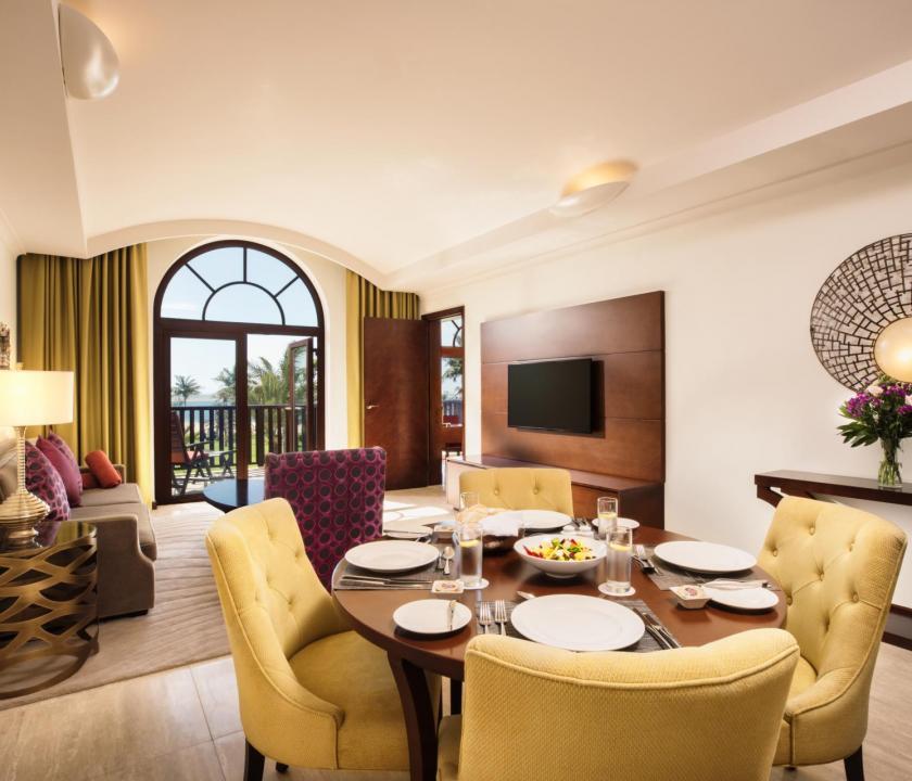 JA Palm Tree Court Hotel / Seaview one bedroom suite (Dubai utazások)