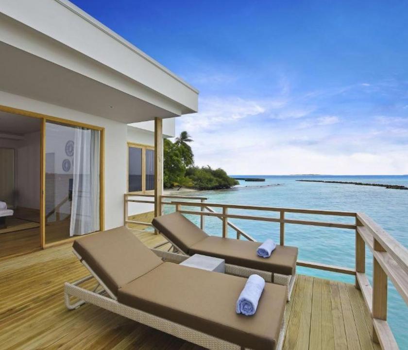 Dhigali Maldives / Water Villa (Maldív-szigeteki utazások)