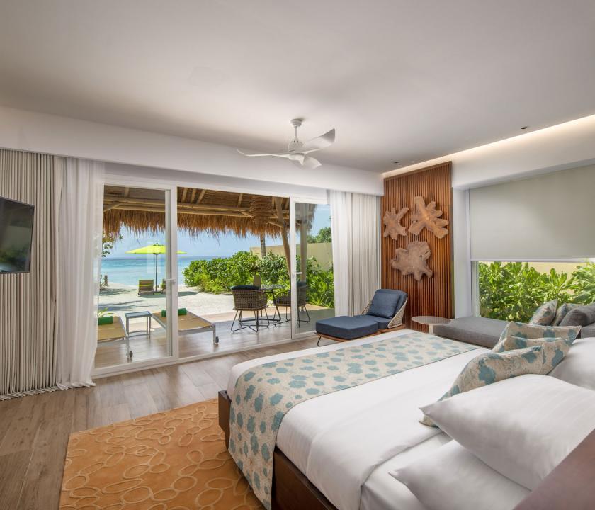 Emerald Maldives Resort & Spa / Beach Villa (Maldív-szigeteki utazások)