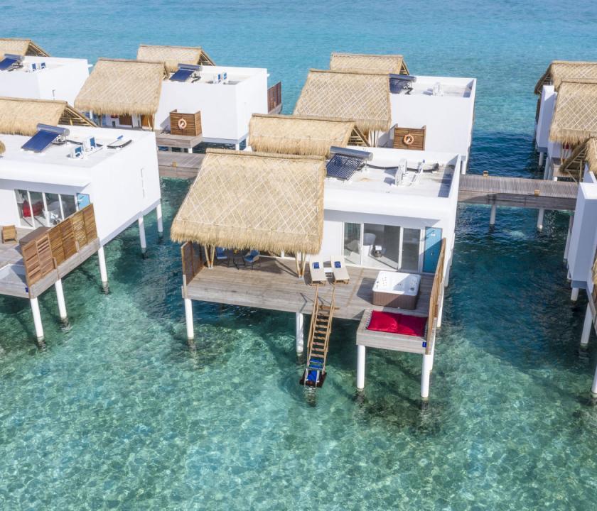 Emerald Maldives Resort & Spa / Jacuzzi Water Villa (Maldív-szigeteki utazások)