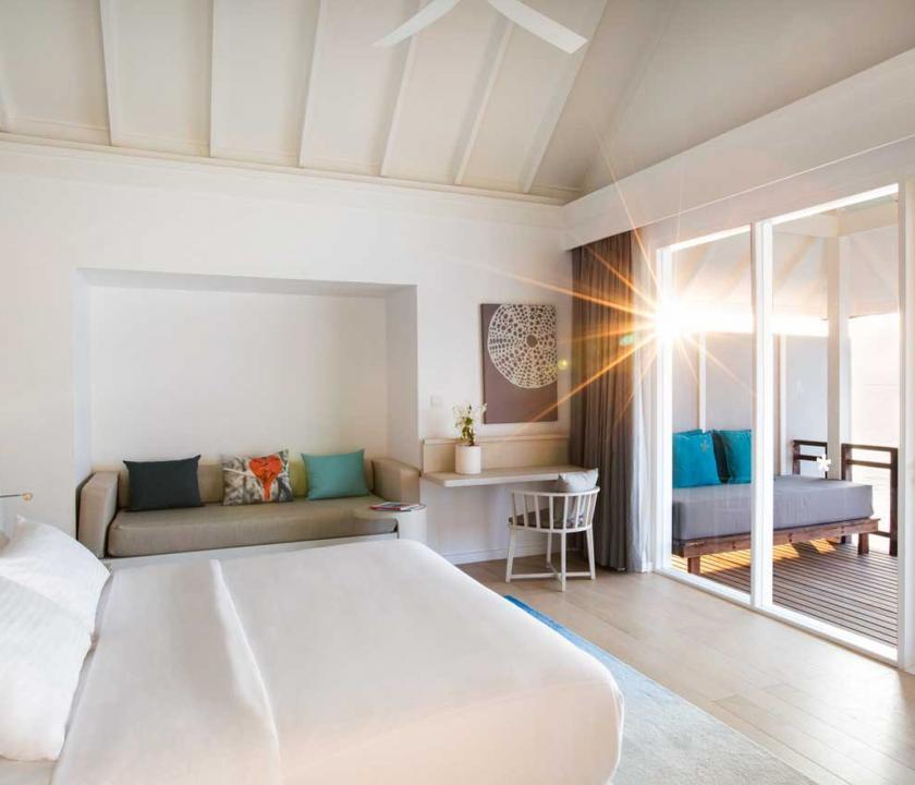 LUX* South Ari Atoll / Water Villa (Maldív-szigeteki utazások)