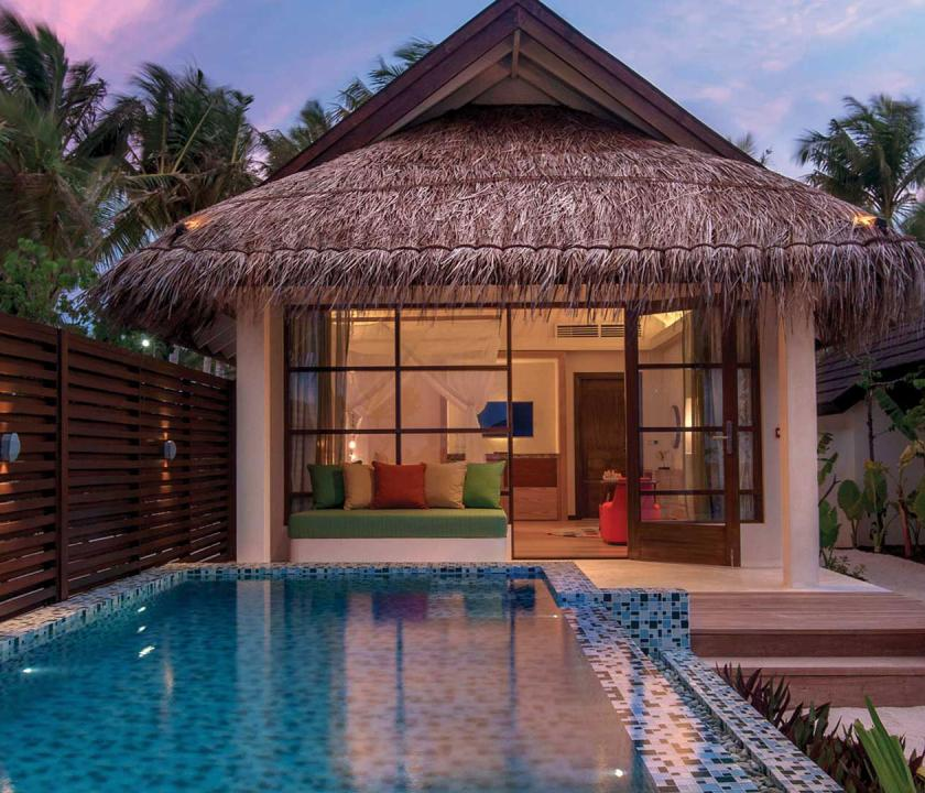 OBLU SELECT at Sangeli by Atmosphere / Deluxe Beach Villa with Pool (Maldív-szigeteki utazások)