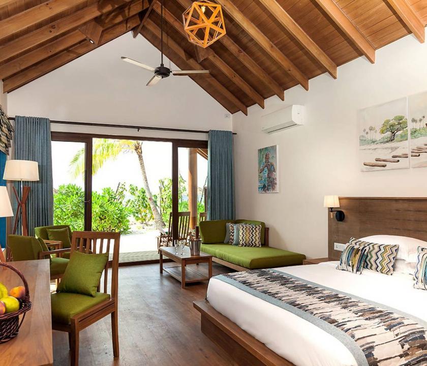 Reethi Faru Resort / Deluxe Beach Villa (Maldív-szigeteki utazások)