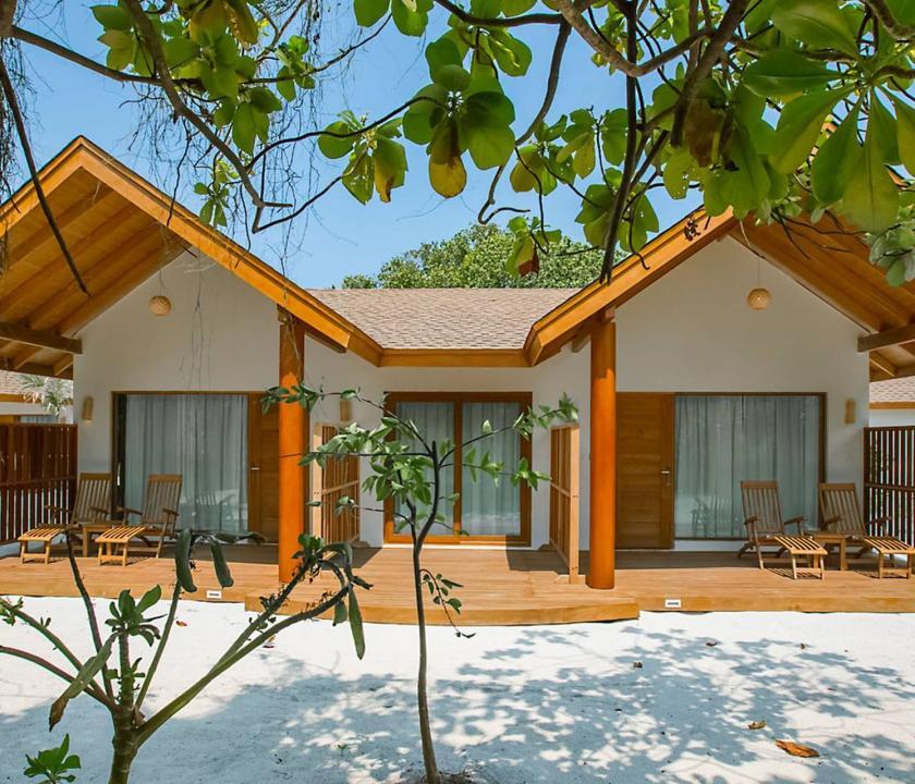 Reethi Faru Resort / Two-bedroom Garden Suite (Maldív-szigeteki utazások)
