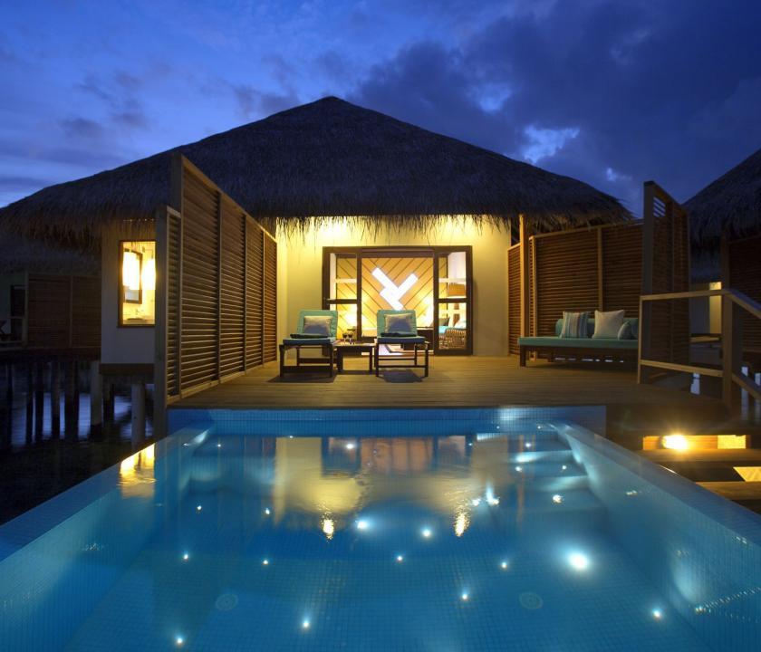 Velassaru Maldives / Water Bungalow with Pool (Maldív-szigeteki utazások)