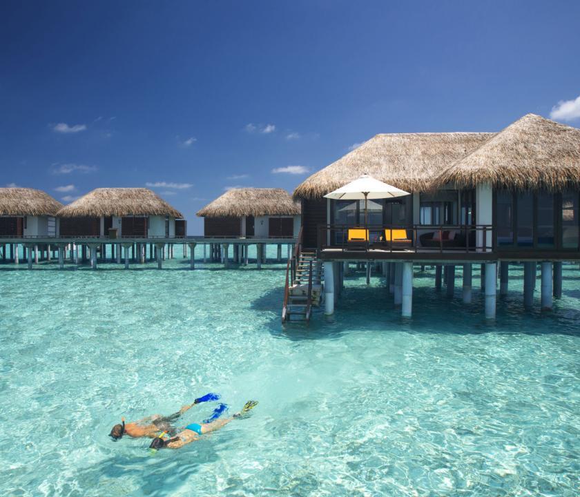 Velassaru Maldives / Water Villa (Maldív-szigeteki utazások)