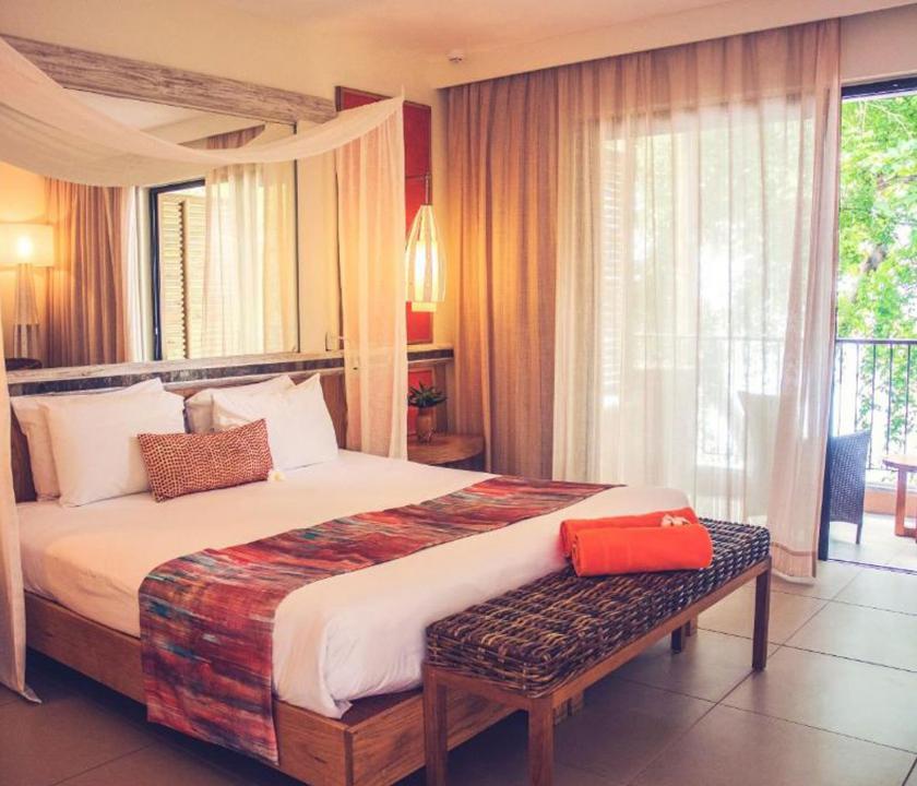 Tamarina Golf & Spa Boutique Hotel / Deluxe Beachfront room (Mauritiusi utazások)