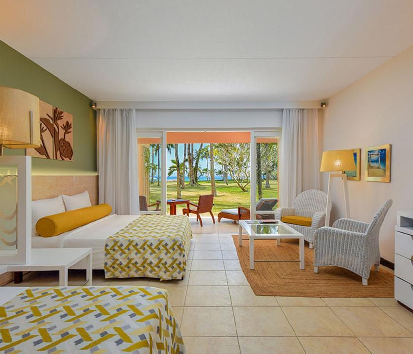 Victoria Beachcomber Resort & Spa / Deluxe Groundfloor (Mauritiusi utazások)