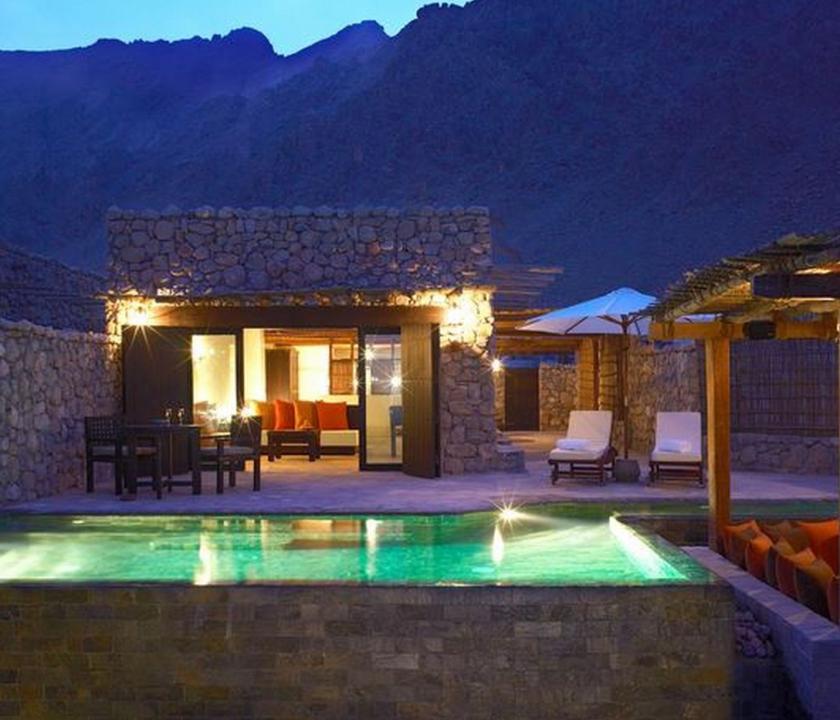 Six Senses Zighy Bay / Spa Pool Villa (Ománi utazások)