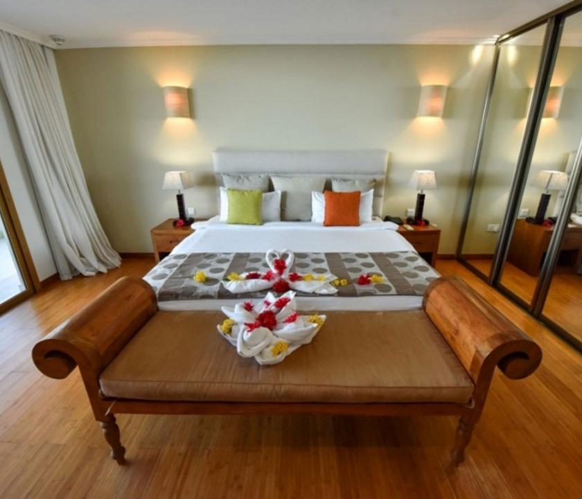 Crown Beach / Junior Suite Seaview (Seychelle szigeteki utazások)