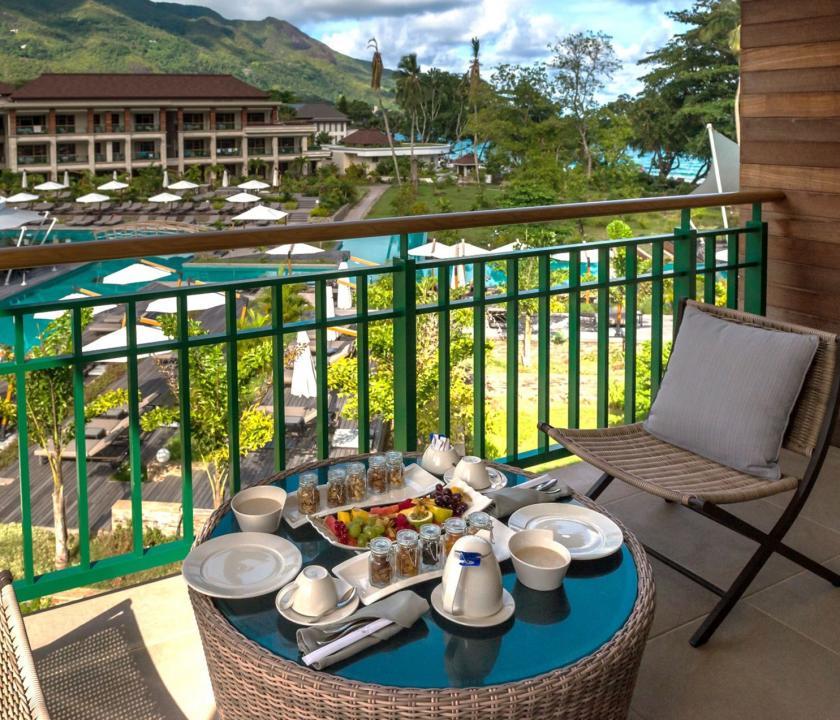 Savoy Resort & Spa / Savoy Ocean View room (Seychelle szigeteki utazások)