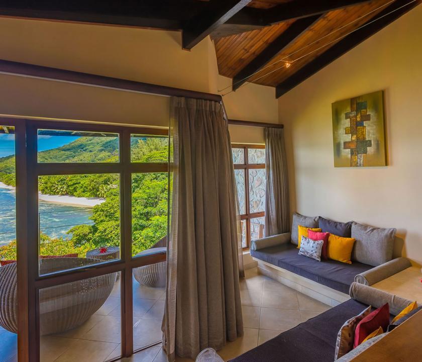 Coco de Mer Hotel & Black Parrot Suites / Black Parrot Junior suite (Seychelle szigeteki utazások)