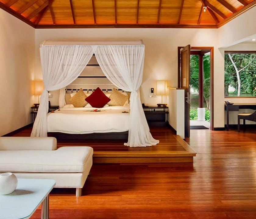 Hilton Seychelles Labriz Resort & Spa / King Sanctuary Pool Villa (Seychelle szigeteki utazások)