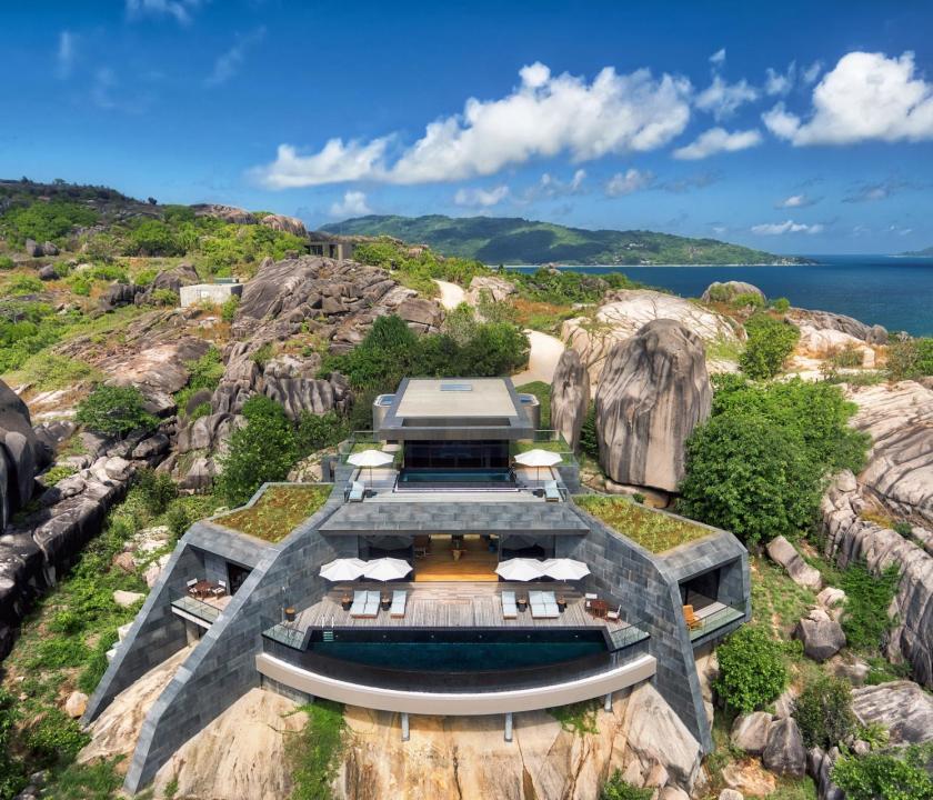 Six Senses Zil Pasyon Hotel / Four bedroom residence (Seychelle szigeteki utazások)