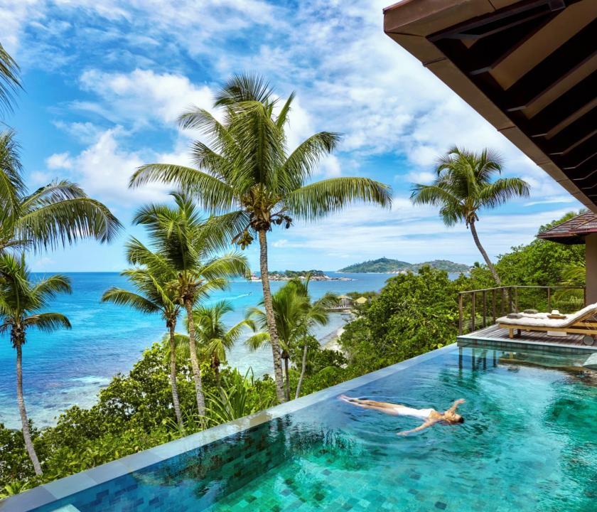 Six Senses Zil Pasyon Hotel / Two bedroom pool villa (Seychelle szigeteki utazások)