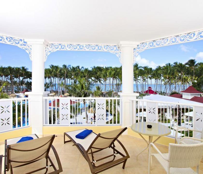 Bahia Principe Luxury Bouganville / Deluxe Junior suite Ocean front - erkély (Dominikai utazások)