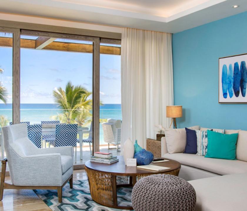 Eden Roc at Cap Cana / Beachfront 1 Bedroom Suite - kilátás a szobából (Dominikai utazások)