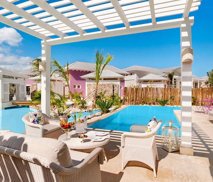Eden Roc at Cap Cana / Luxury Pool 1 Bedroom Suite - privát medence (Dominikai utazások)