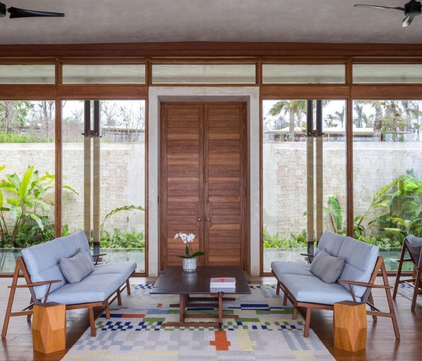 Amanera / 2 Bedroom Bay View Casa - nappali (Dominikai utazások)