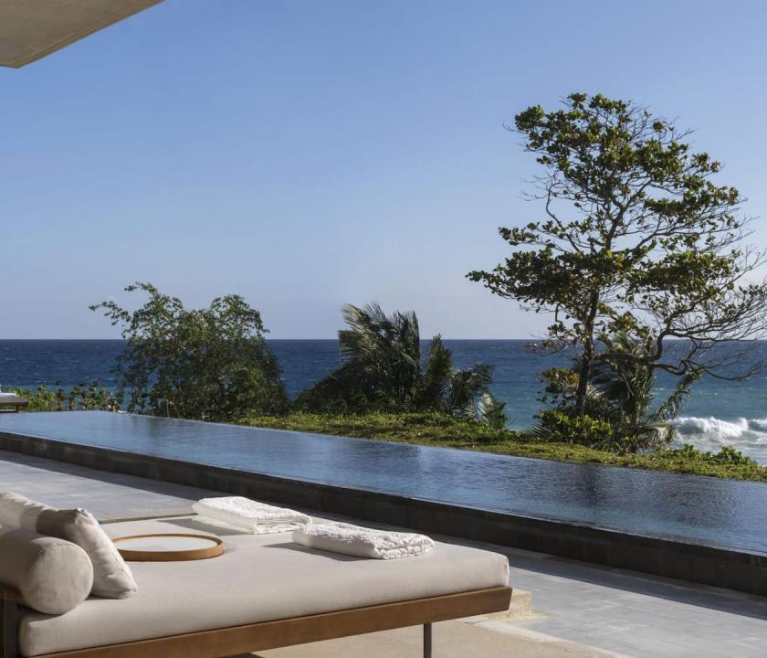 Amanera / Bay View Pool Casita - terasz medencével (Dominikai utazások)