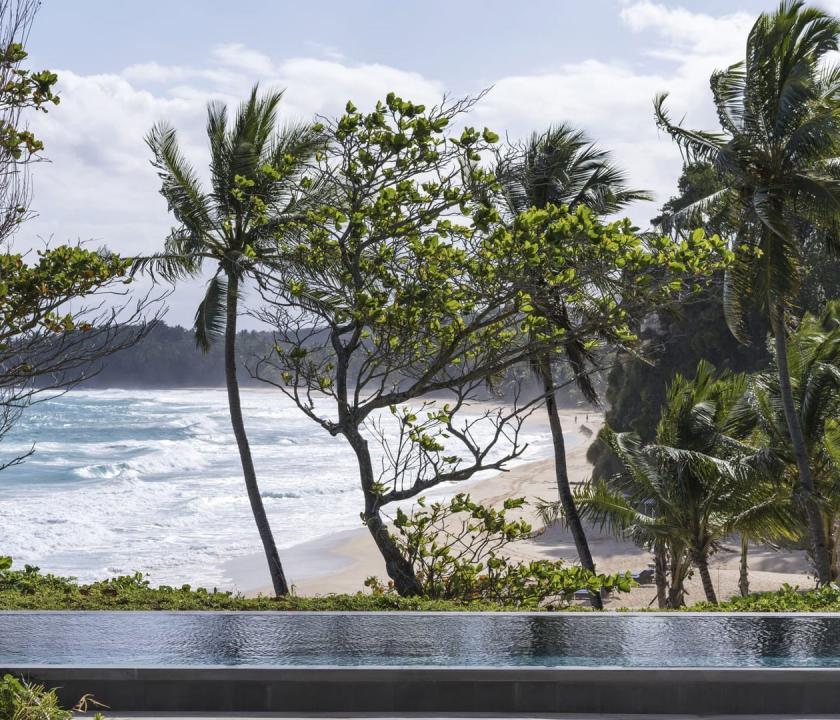 Amanera / Bay View Pool Casita - kilátás a szobából (Dominikai utazások)