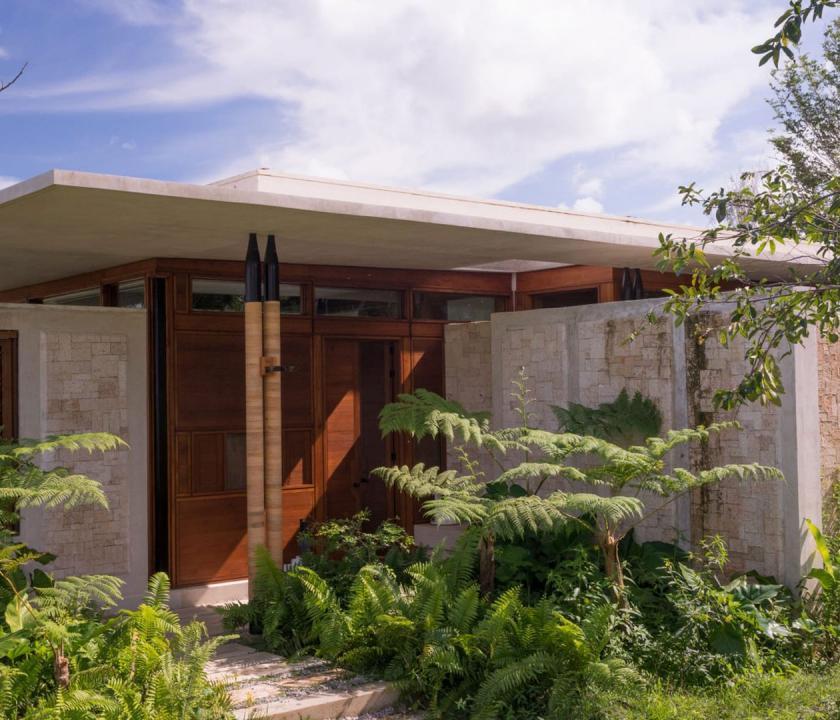 Amanera / Hill Casita - bejárat (Dominikai utazások)