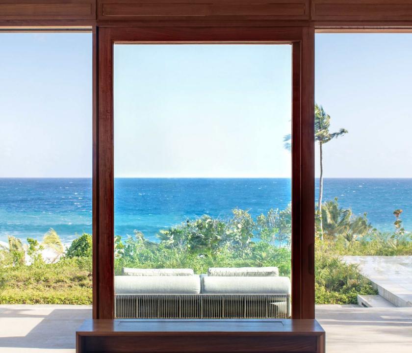 Amanera / Hill Casita - kilátás a szobából (Dominikai utazások)