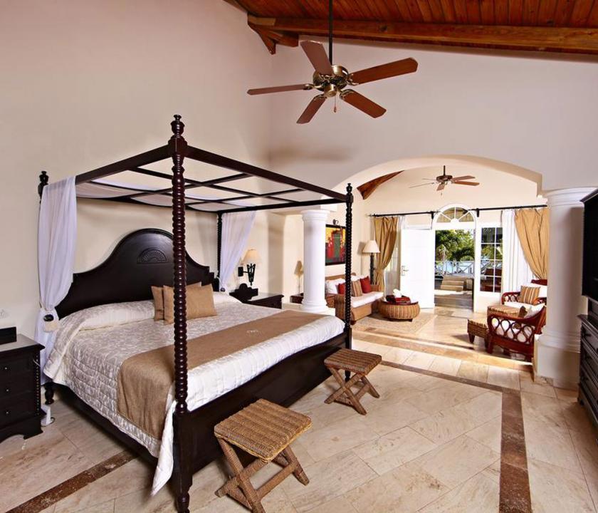 Luxury Bahia Principe Cayo Levantado / Beach Villa - hálószoba (Dominikai utazások)