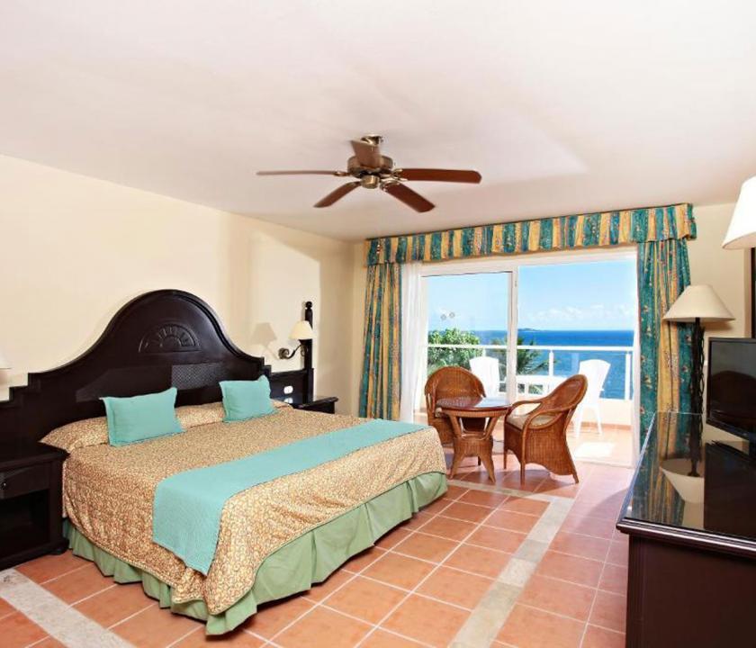 Grand Bahia Principe Cayacoa / Standard Sea View room - hálószoba (Dominikai utazások)