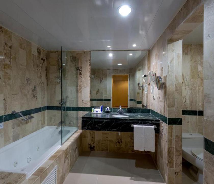 Grand Bahia Principe Cayacoa / Standard Sea View room - fürdőszoba (Dominikai utazások)