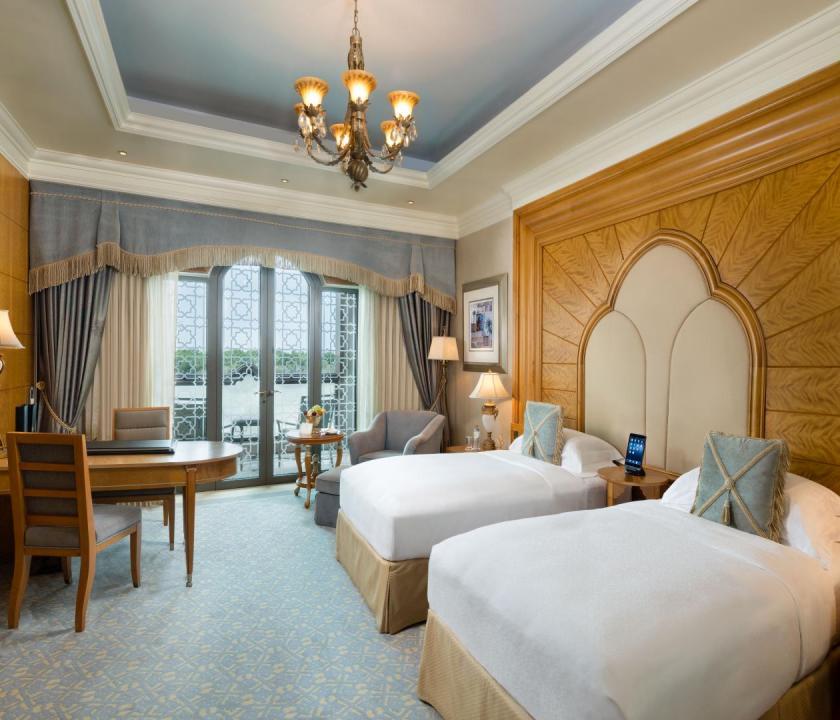 Emirates Palace / Coral room - hálószoba (Dubai utazások)
